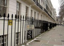 Georgian housing, Gordon Square, London (University of London precincts)