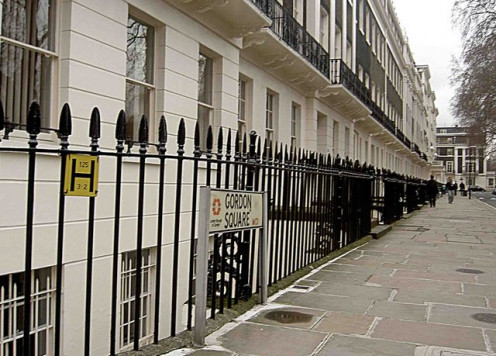 Georgian housing, Gordon Square, London (University of London precincts)