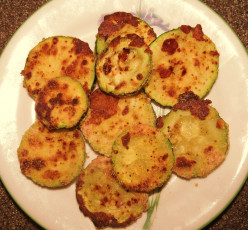 Oven-Fried Parmesan Zucchini Recipe