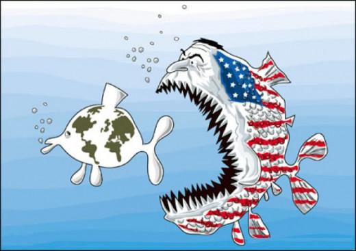 American hegemony!