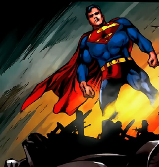 Super-Smash completed. You might be able to hurt Superman - but how do you SURVIVE him?!?