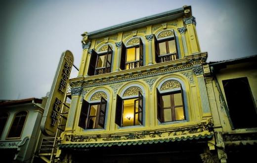 A historical hotel in Melaka