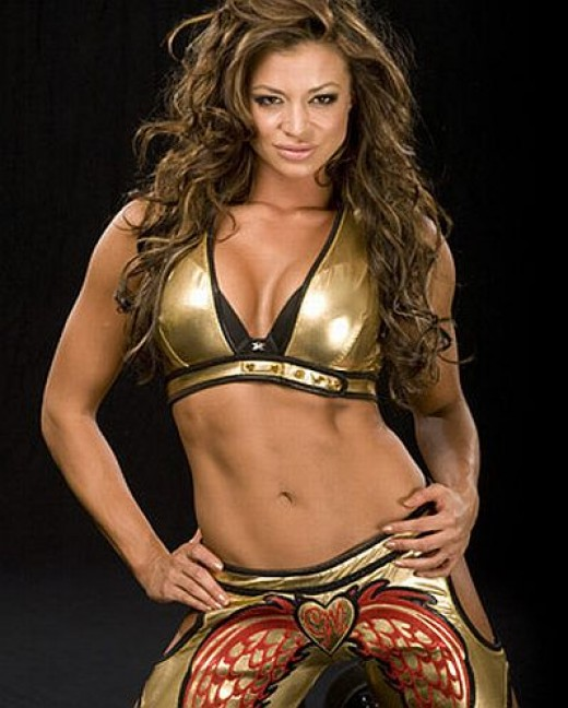 WWE Diva Candice Michelle