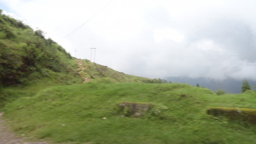 Road side view - on the way from Mirik to Pashupati Market