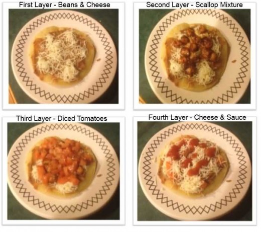 Seafood Taco Assembly Instructions