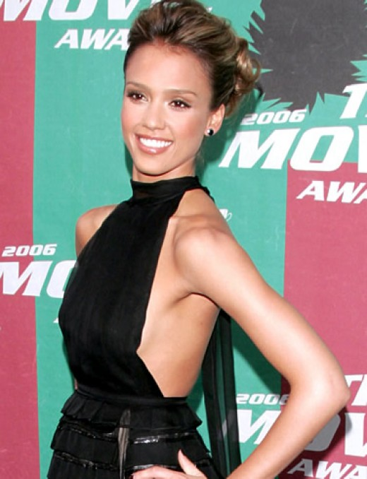 jessica alba wallpaper good luck chuck. This year Alba was seen in the
