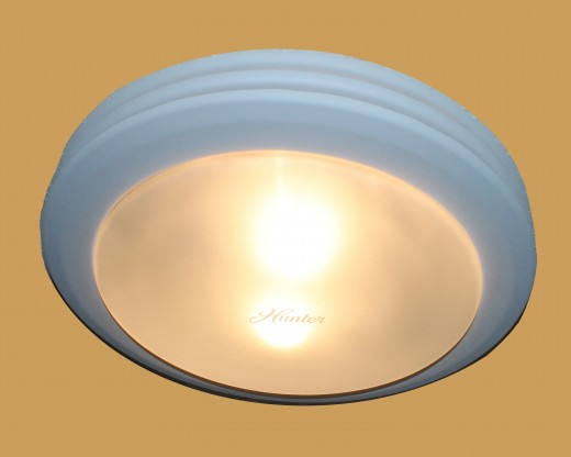 The Hunter 90052 Saturn Bathroom Fan