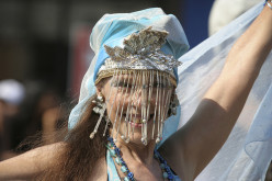 The Mermaid Parade in Coney Island