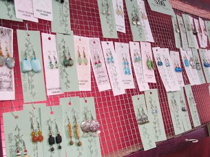Jewelry by local artist