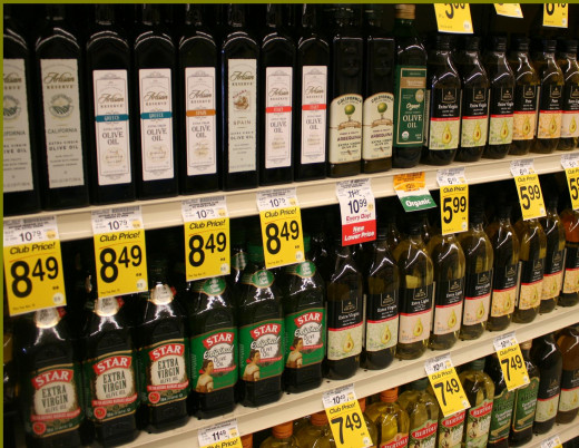 Having this many olive and other specialty oils to select from is relatively new!