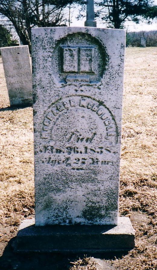 McGregor McDougle tombstone