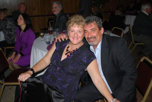 Mark and his wife