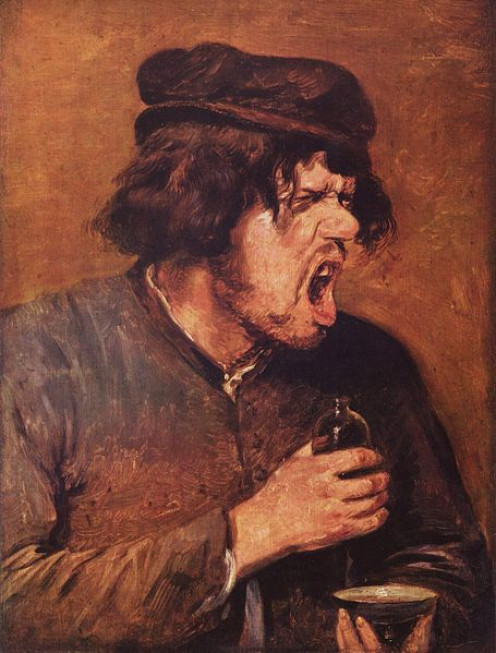 """""""The Bitter Tonic"""" by Adriaen Brouwer"""
