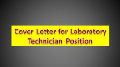 Winning Cover Letter for Laboratory Technician Position