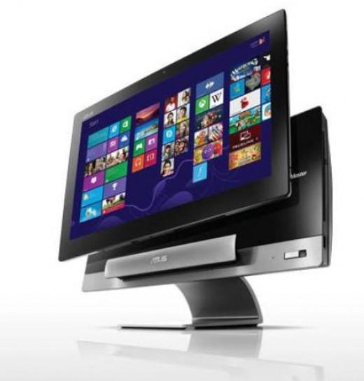 Desktop dock