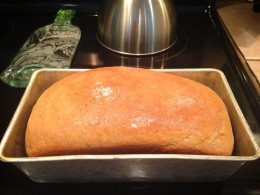 Reader Tami Zambrano's first loaf using this recipe. Thanks for the report back.