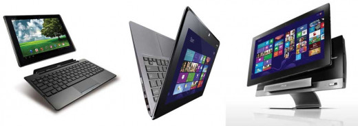 Some kinds of two-in-one tablet.