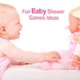 fun baby shower games ideas