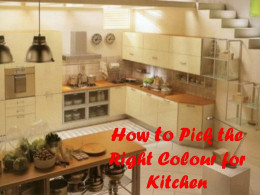 Standardized Kitchen