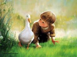 The Glory Of Childhood - Sweet Poem