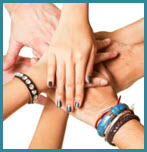 There will be many helping hands to support you as you learn to live without drugs and alcohol
