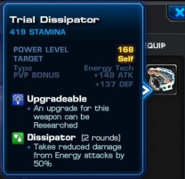 Trial Dissipator