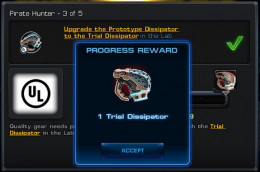 Progress Reward: Trial Dissipator