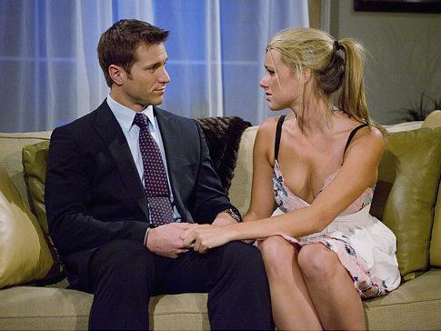Jake Pavelka and Ali on The Bachelor