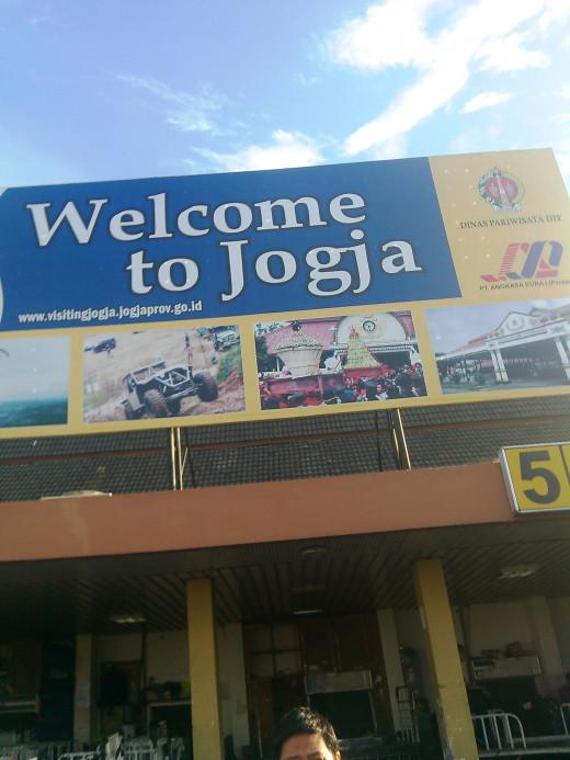 Selamat datang di Jogjakarta! :)