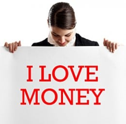 Nothing wrong with loving money