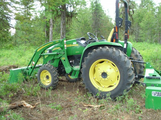 our new tractor