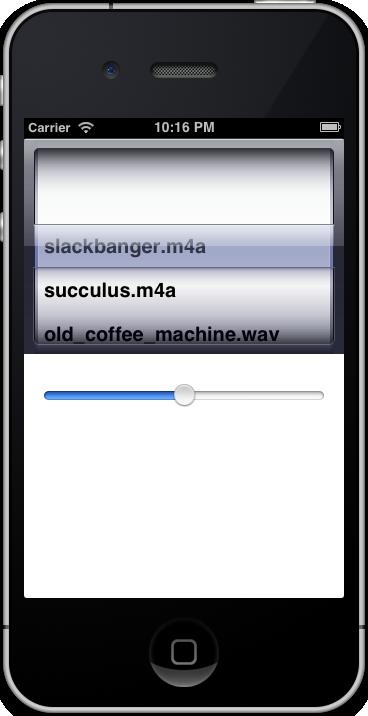 Running AVFoundation AVPlayer App