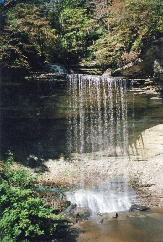 Waterfall at Clifty Falls State Park
