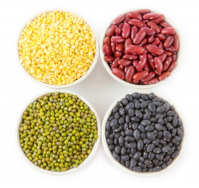 Beans! There are so many varieties. Most are rich in iron, as well as many other important nutrients. Don't avoid beans for the fear of gas. Toss in some garlic, a potent gas buster and digestion soother.