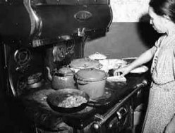 Cooking in 1943, Library of Congress