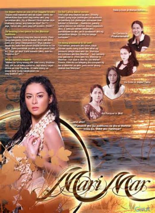 Marian as Marimar