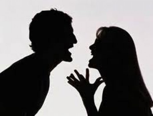 Relationships are not about arguments, although everyone has them