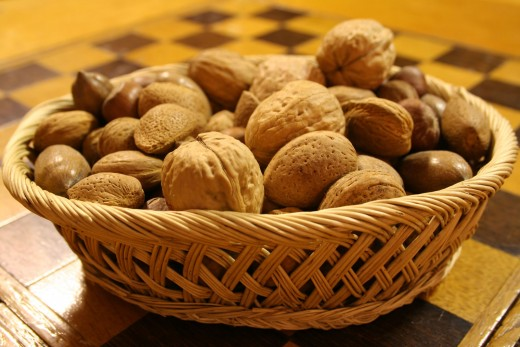 Nuts are a great source for magnesium.