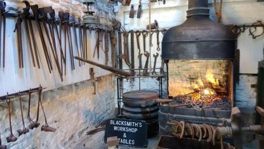 Very Dark Blacksmiths shop