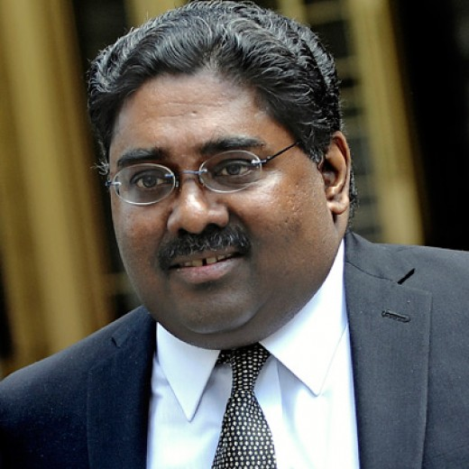 Raj Rajaratnam, CEO Galleon