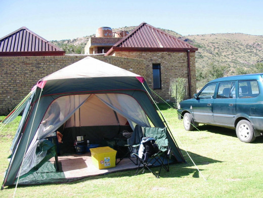 Mountain Zebra National Park Camp Ground