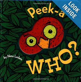 The Peek-a WHO book is made especially for your baby's little hands.