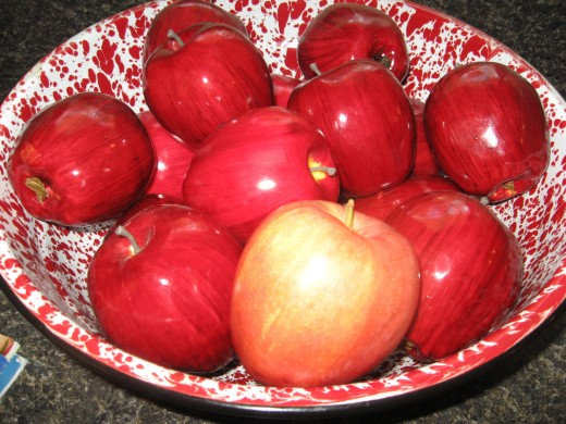 Apple peel is a natural anti inflammatory.
