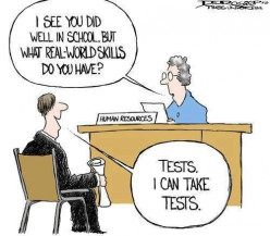 Do standardized tests determine who will be successful?