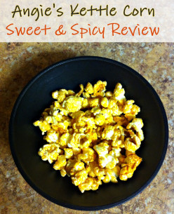 Angie's Kettle Corn- Sweet & Spicy Popcorn Review