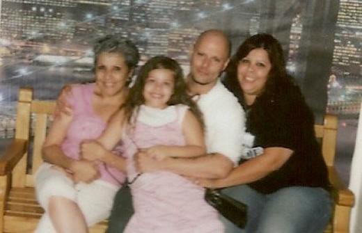 My Children and Me: Katie, Chris, & April
