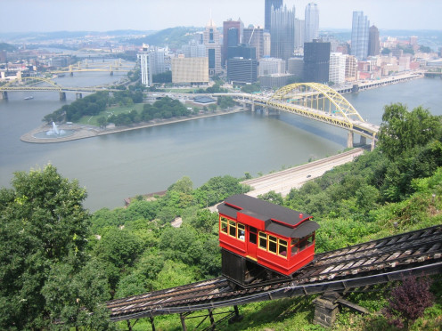 Duquesne Incline from top