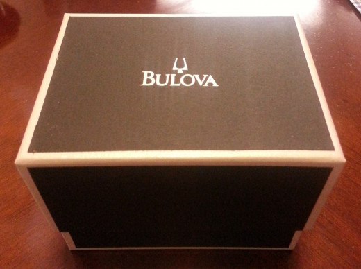 The box my Bulova Precisionist came in.