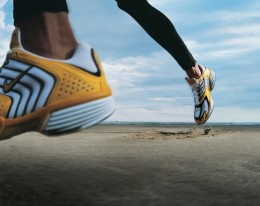 Not all runs are limited to the track or asphalt. Try replacing an easy run in your neighborhood with an easy run on the beach or trail.