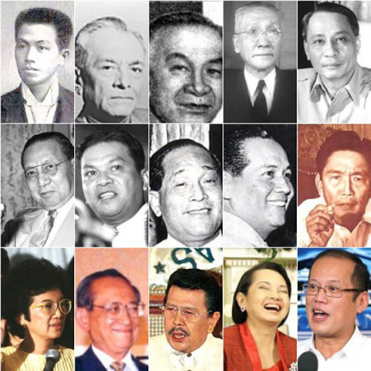 List Of The Philippine Presidents (Part I- The First Five)